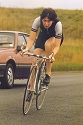 Thumbnail of Gill Bradley on a T.J. Cycles Time Trial  bike