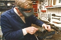 Thumbnail of Trevor Jarvis in his workshop
