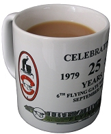 25 year Flying Gate Mug